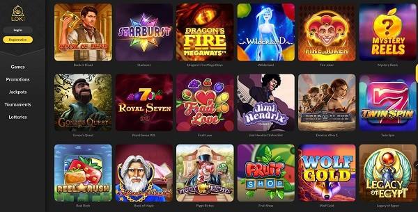 Loki.com Casino Free Spins Bonus