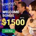 Windows Casino $5 free spins   600% up to $1500 free bonus