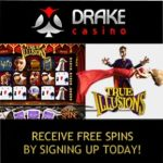 Drake Casino | 300% up to $5000 bonus and free spins | review