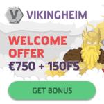 Vikingheim Casino €750 gratis & 150 free spins – Sweden, Norway, Finland