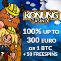 Konung Casino - Free Bonus