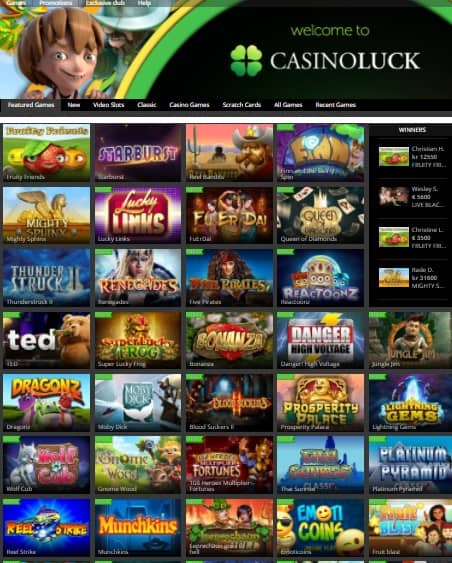 CasinoLuck.com Review