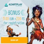AzartPlay Casino Review 1500 EUR bonus and 200 FS exclusive