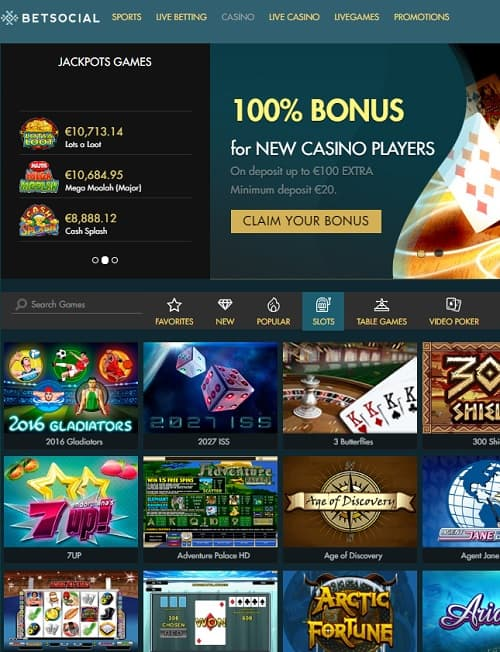 Bet Social Casino Review