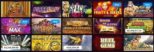 Wildblaster Casino games