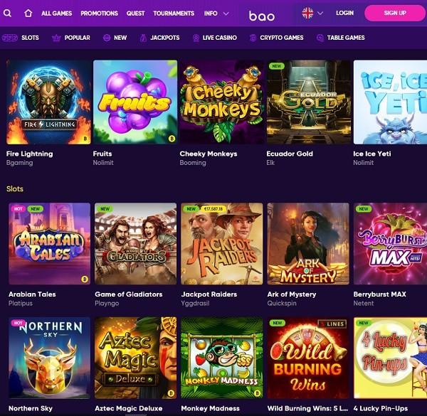 Bao Online Casino Review