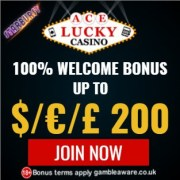 Ace Lucky Casino bonus