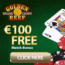 Golden Reef Casino banner 250x250
