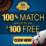Lucky Emperor Casino - 100 free spins and €100 match bonus