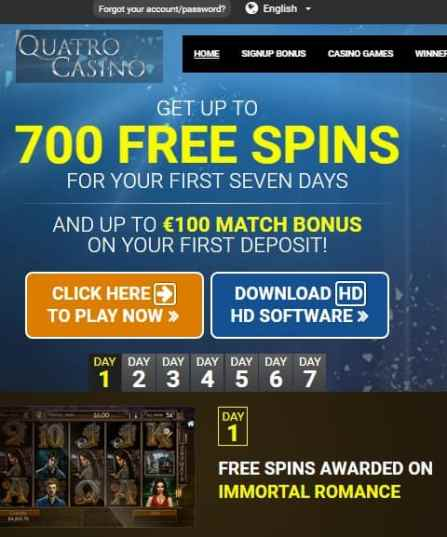 Quatro Casino Review