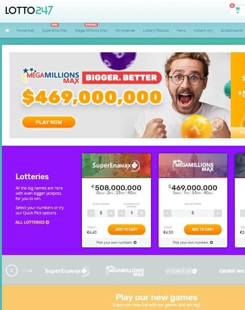 Lotto 247 Casino Review