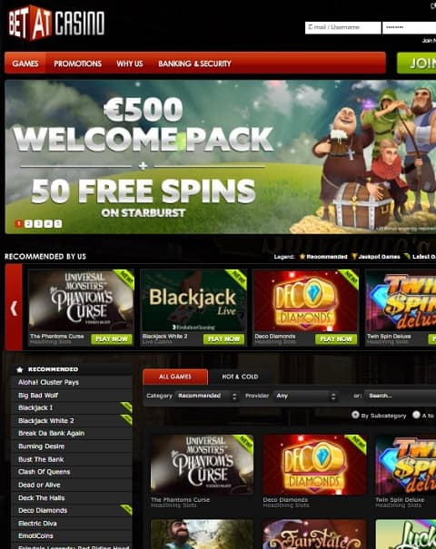 Bet At Casino Review