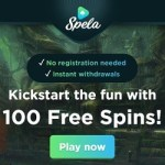 Spela.com Casino (Trustly, Pay N Play) 100 free spins bonus on deposit