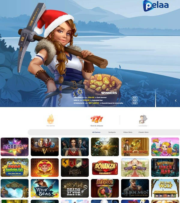 Pelaa Casino review - Finland, Sweden, Germany