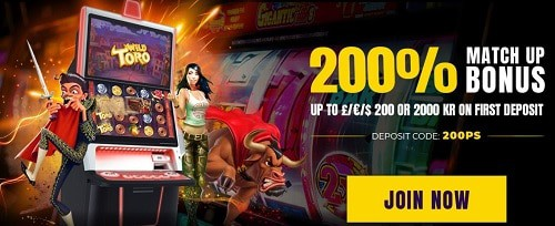 Power Slots Casino exclusive welcome bonus