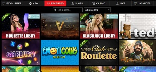 Power Slots Casino games and software providers