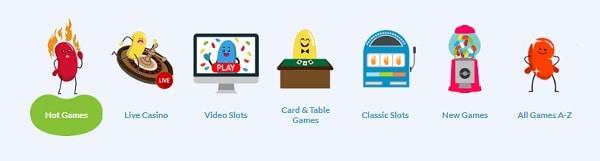 JellyBean Casino games