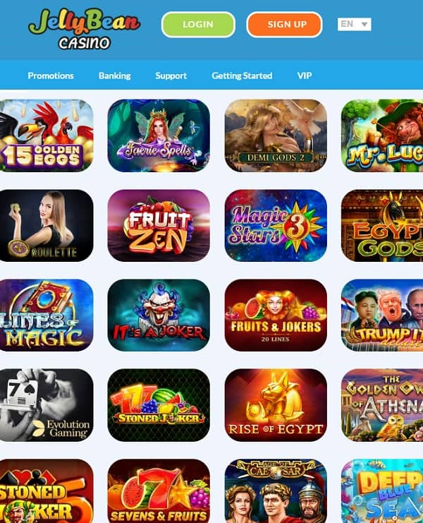 JellyBean Casino Review