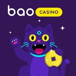 Bao Casino 100% bonus up to $200 and 20 free spins on 1st