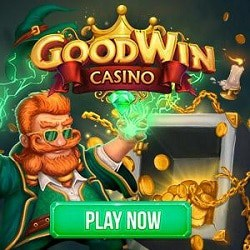 GOODWIN 20 free spins bonus without deposit