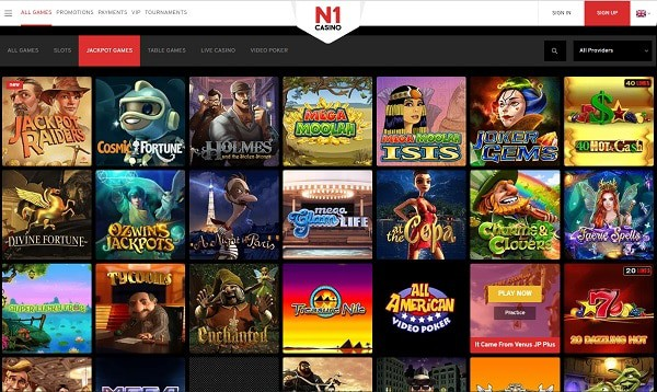 N1 Casino Online and Mobile