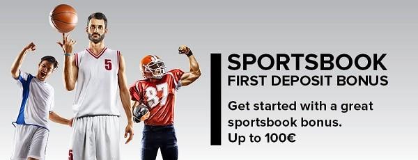 Legolasbet Sports 100% bonus