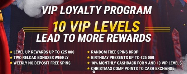 Fastpay Casino VIP rewards & loyalty program