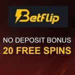 Betflip Bitcoin Casino - 20 free spins bonus without deposit