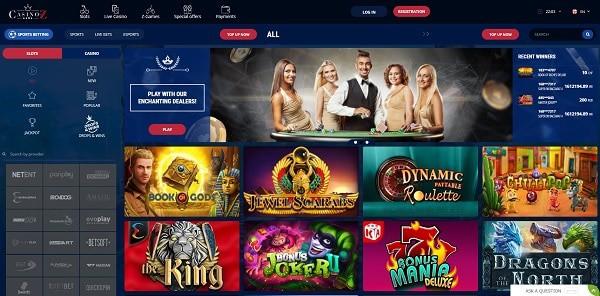 Casino-Z.com free spins bonus