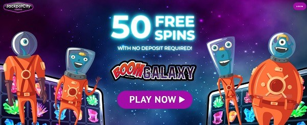 Jackpot City Casino 50 FS bonus