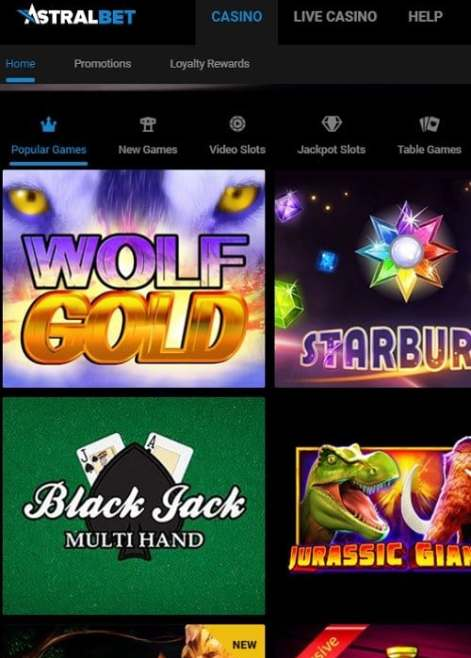 Astral Bet Casino Review