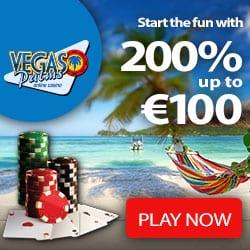 Vegas Palms Casino 100 free spins no deposit required + 200% bonus