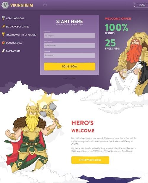 Viking Heim Casino Online