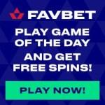FavBet Casino 10 EUR free bet bonus and free spins on deposit