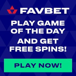 FavBet Casino Full Review: free bets, gratis spins, cashback bonus