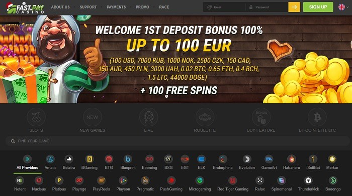 100% bonus up to $100 and 100 free spins on crypto slot machines