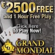 Grand Mondial Casino free spins