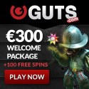 Guts Casino 110 free spins and $400 free bonus
