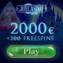 Joy Casino 200 free spins and $2000 welcome bonus