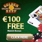Golden Reef Casino banner 250x250