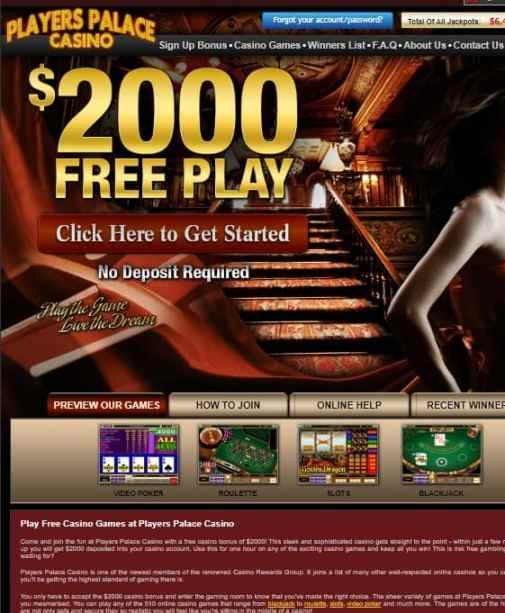 Players Palace Casino Review