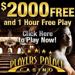 Players Palace Casino | £€$ 2000 free spins bonus - no deposit required!
