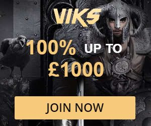 VIKS CASINO 20 free spins and €200 Mega Moolah bonus
