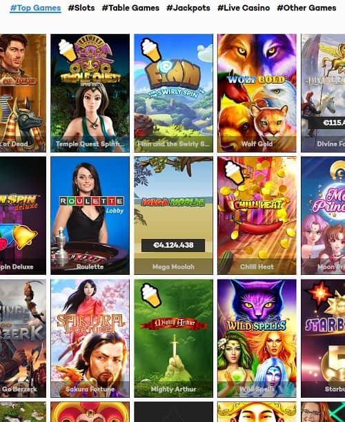 Highroller.com free spins bonus - Online Casino