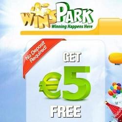 Winspark [register & login] - €5 free bonus no deposit required