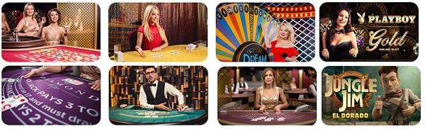 Spin Casino live dealer