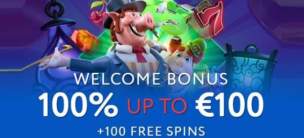 Euslot Casino 100% welcome bonus