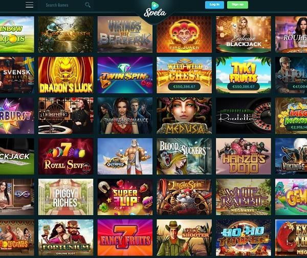 Spela.com Online Casino