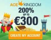 Ace Kingdom Casino free spins bonus