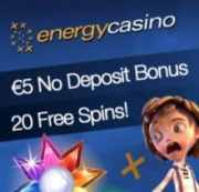 Energy Casino free bonus